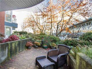 """Photo 18: 102 1502 ISLAND PARK Walk in Vancouver: False Creek Condo for sale in """"THE LAGOONS"""" (Vancouver West)  : MLS®# V1108312"""