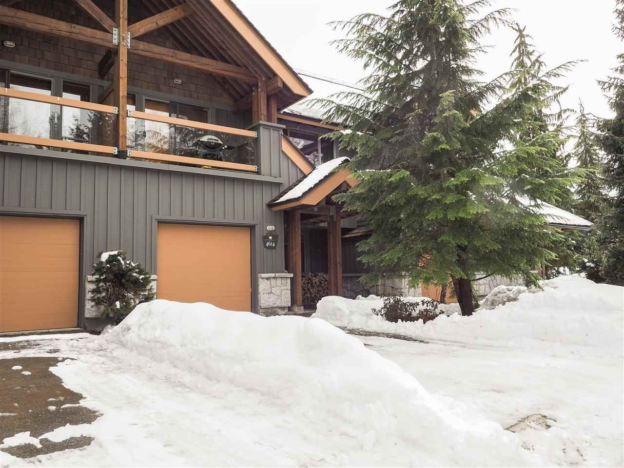 Main Photo: 4614 MONTEBELLO Place in Whistler: Whistler Village Townhouse for sale : MLS®# R2528597