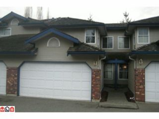 "Photo 1: 78 36060 OLD YALE Road in Abbotsford: Abbotsford East Townhouse for sale in ""MOUNTAIN VIEW VILLAGE"" : MLS®# F1002352"