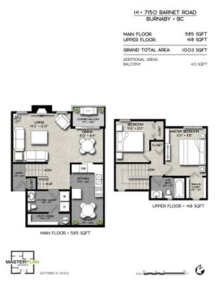 "Photo 26: 14 7150 BARNET Road in Burnaby: Westridge BN Townhouse for sale in ""Harbour Ridge Terrace"" (Burnaby North)  : MLS®# R2518022"