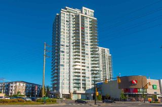 "Photo 1: 703 602 COMO LAKE Avenue in Coquitlam: Coquitlam West Condo for sale in ""UPTOWN 1 BY BOSA"" : MLS®# R2529216"