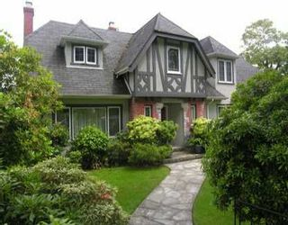 Photo 1: 2562 CROWN ST in Vancouver: Point Grey House for sale (Vancouver West)  : MLS®# V596029