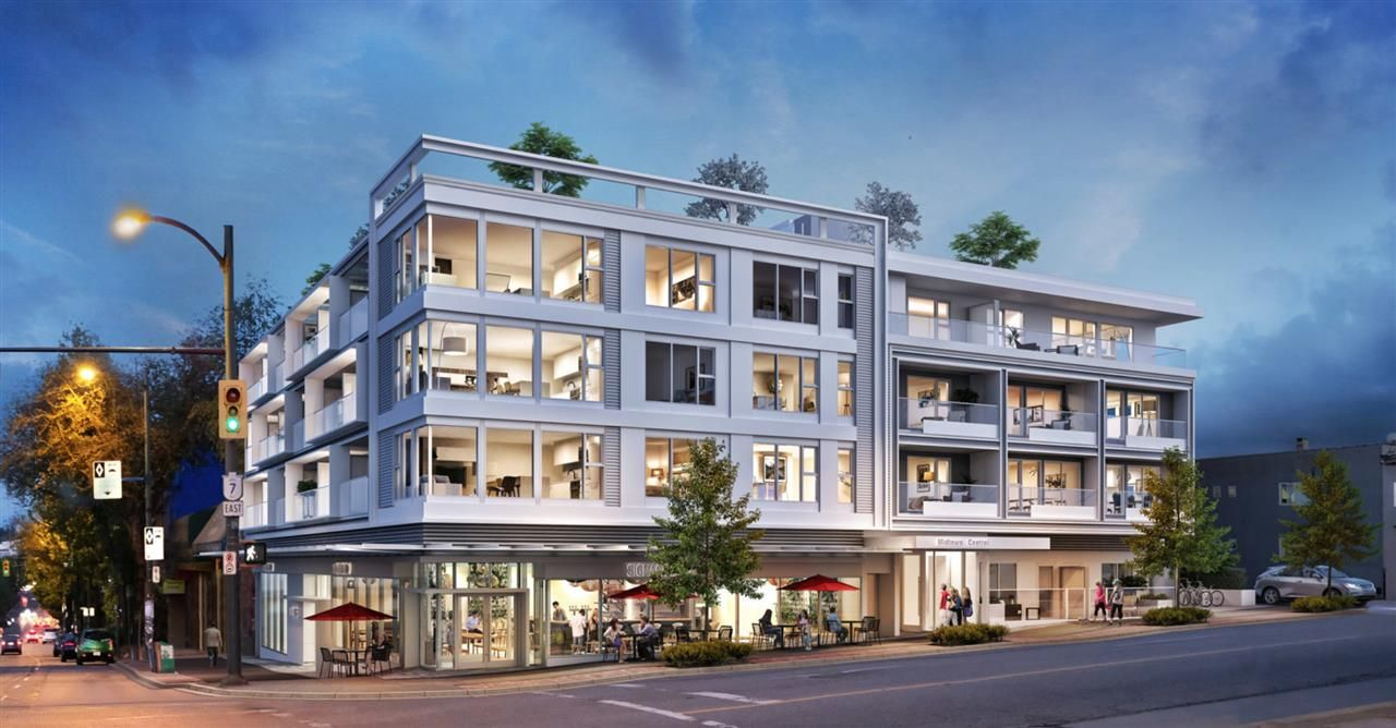 """Main Photo: 306 2508 FRASER Street in Vancouver: Mount Pleasant VE Condo for sale in """"MIDTOWN CENTRAL"""" (Vancouver East)  : MLS®# R2544812"""