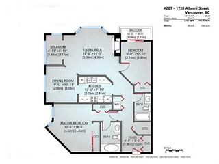 """Photo 20: 207 1738 ALBERNI Street in Vancouver: West End VW Condo for sale in """"ATRIUM ON THE PARK"""" (Vancouver West)  : MLS®# V1102014"""