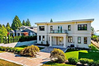 Photo 1: 14020 MARINE Drive: White Rock House for sale (South Surrey White Rock)  : MLS®# R2478365