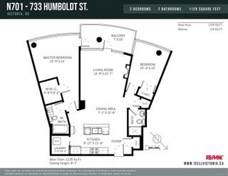 Photo 33: N701 737 Humboldt St in : Vi Downtown Condo for sale (Victoria)  : MLS®# 878609
