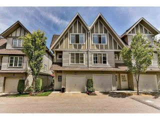 "Photo 1: 3 15175 62A Avenue in Surrey: Sullivan Station Townhouse for sale in ""The Brooklands"" : MLS®# F1444147"