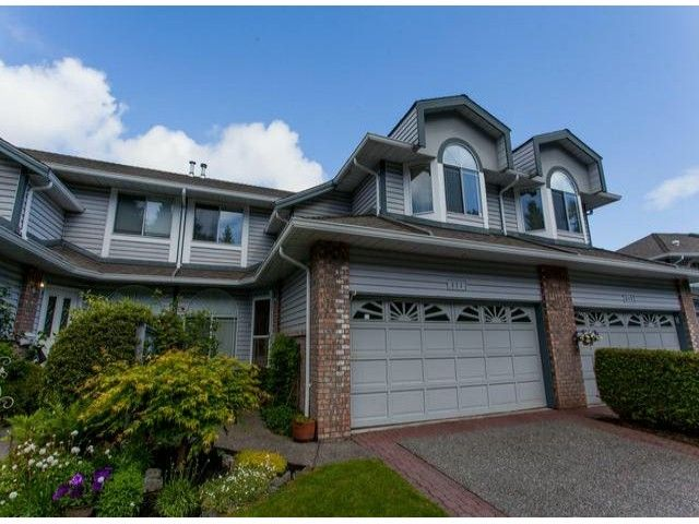 """Main Photo: 111 12044 S BOUNDARY Drive in Surrey: Panorama Ridge Townhouse for sale in """"Parkwynd"""" : MLS®# F1412890"""