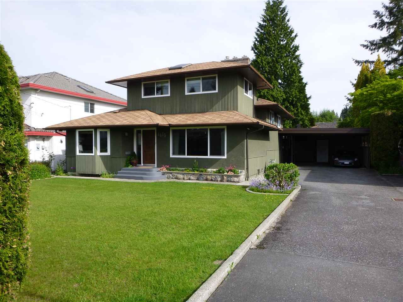 Main Photo: 1415 REGAN Avenue in Coquitlam: Central Coquitlam House for sale : MLS®# R2019990
