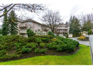 """Photo 1: 215 450 BROMLEY Street in Coquitlam: Coquitlam East Condo for sale in """"BROMLEY MANOR"""" : MLS®# R2030083"""