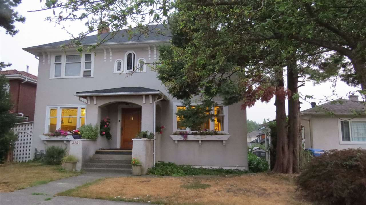 """Main Photo: 2751 OXFORD Street in Vancouver: Hastings East House for sale in """"Hastings-Sunrise"""" (Vancouver East)  : MLS®# R2306936"""