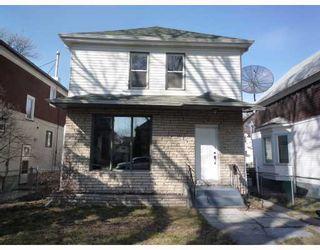 Photo 1: 149 POLSON Avenue in WINNIPEG: North End Residential for sale (North West Winnipeg)  : MLS®# 2904630