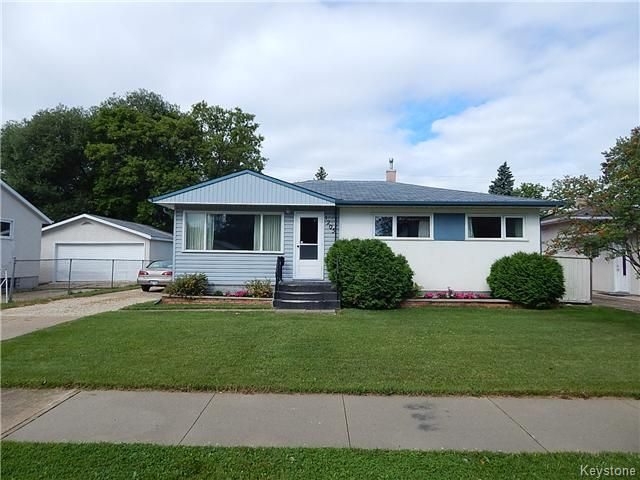 Main Photo: 1205 Hoka Street in Winnipeg: West Transcona Residential for sale (3L)  : MLS®# 1621063