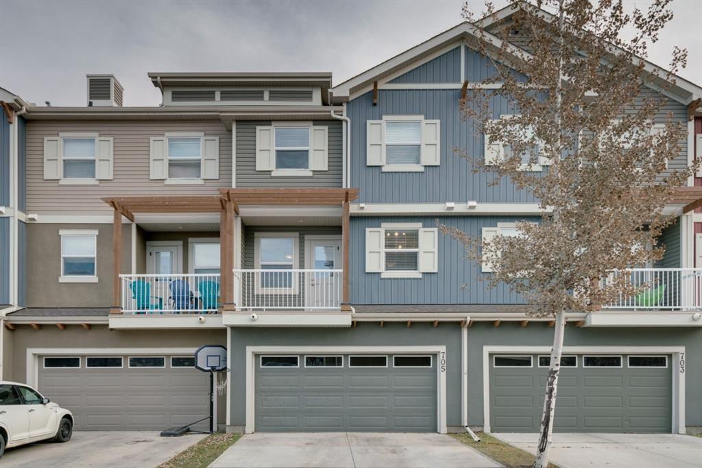 Main Photo: 705 10 Auburn Bay Avenue SE in Calgary: Auburn Bay Row/Townhouse for sale : MLS®# A1046480