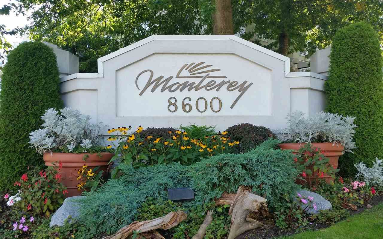 """Main Photo: 121 8600 GENERAL CURRIE Road in Richmond: Brighouse South Condo for sale in """"MONTEREY"""" : MLS®# R2004181"""