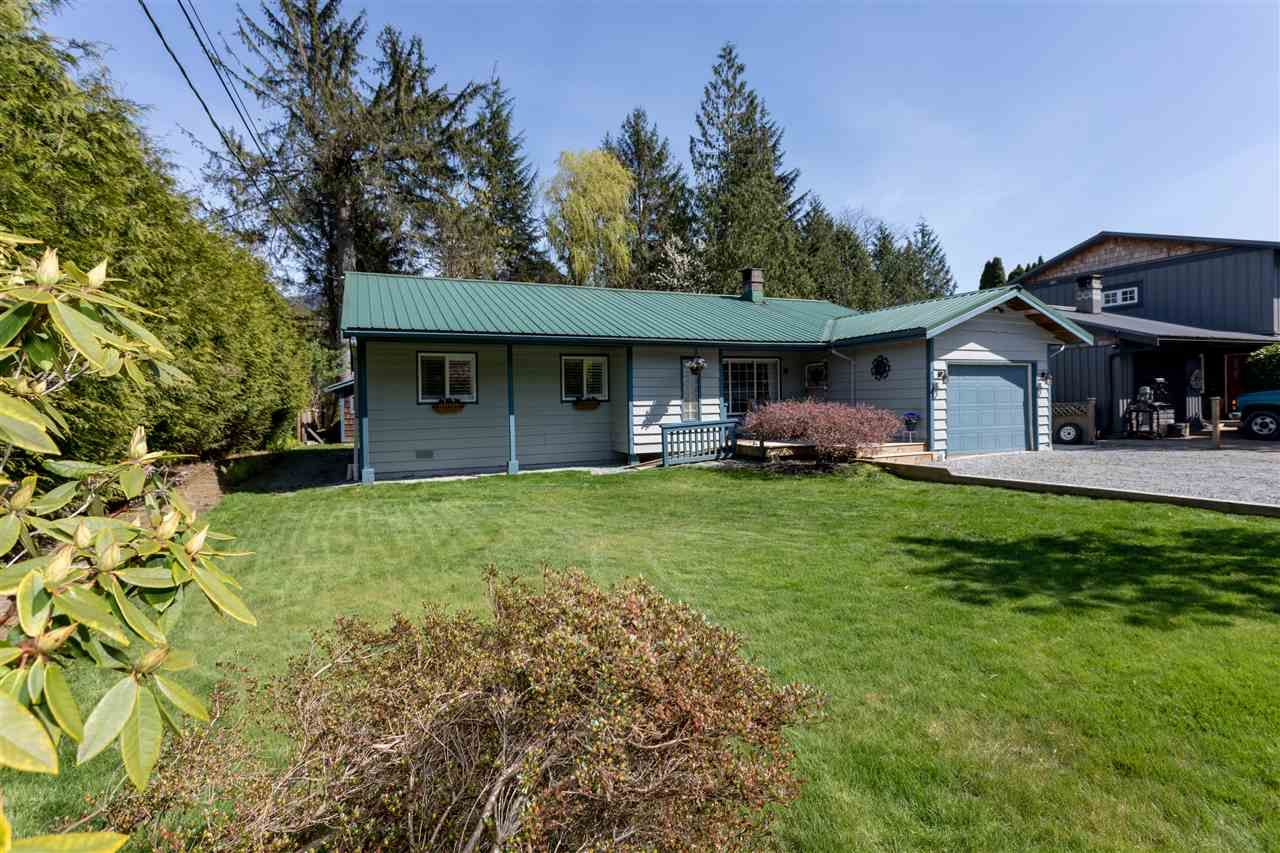 Main Photo: 41580 ROD Road in Squamish: Brackendale House for sale : MLS®# R2261542