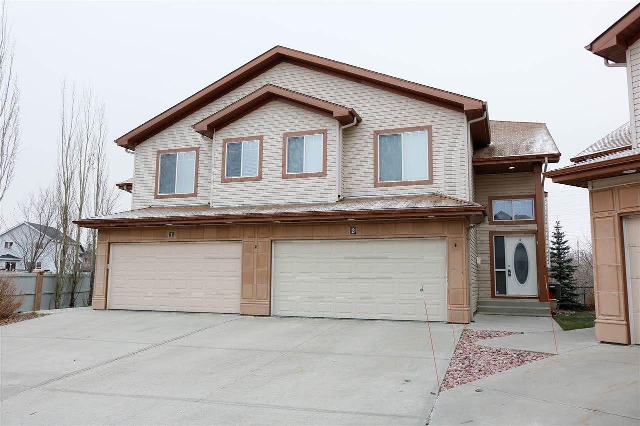 Main Photo: 2 2815 34 Avenue in Edmonton: Zone 30 House Half Duplex for sale : MLS®# E4237036