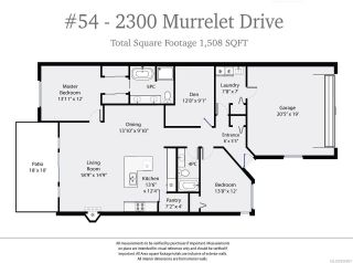 Photo 8: 54 2300 MURRELET DRIVE in COMOX: CV Comox (Town of) Row/Townhouse for sale (Comox Valley)  : MLS®# 806867