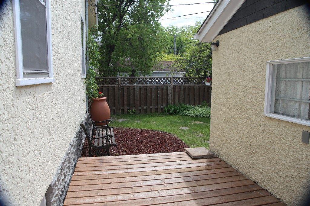 Photo 34: Photos: 228 Lenore Street in Winnipeg: Wolseley Single Family Detached for sale (West Winnipeg)  : MLS®# 1413025