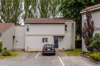 """Photo 1: 6155 E GREENSIDE Drive in Surrey: Cloverdale BC Townhouse for sale in """"Greenside Estates"""" (Cloverdale)  : MLS®# R2279920"""