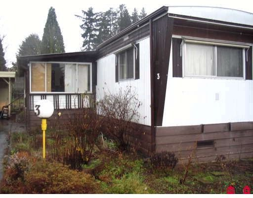 """Main Photo: 3 1884 MCCALLUM Road in Abbotsford: Central Abbotsford Manufactured Home for sale in """"Garden Village"""" : MLS®# F2803863"""