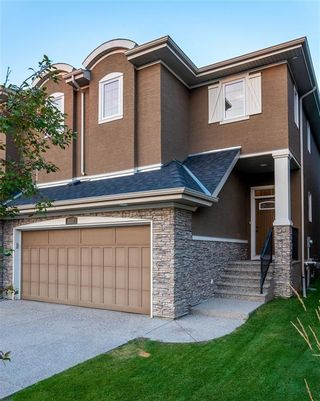 Main Photo: 113 CRANLEIGH Place SE in Calgary: Cranston Semi Detached for sale : MLS®# A1092026