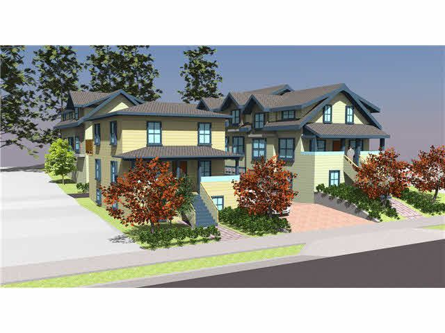 """5 townhomes ranging from 1"