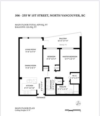 """Photo 3: 306 255 W 1ST Street in North Vancouver: Lower Lonsdale Condo for sale in """"WEST QUAY"""" : MLS®# R2469889"""