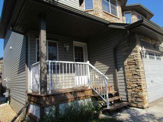 Photo 3: 49 6304 SANDIN Way in Edmonton: Zone 14 House Half Duplex for sale : MLS®# E4252566