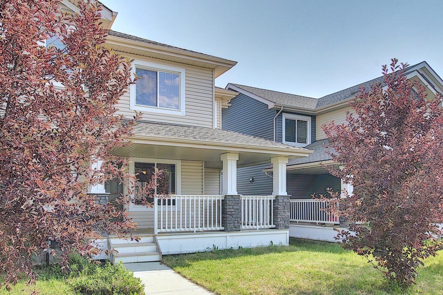 Main Photo: 17617 10 Avenue SW in Edmonton: Zone 56 Attached Home for sale : MLS®# E4262399