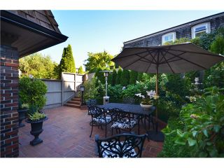 """Photo 13: 1449 MCRAE AV in Vancouver: Shaughnessy Townhouse for sale in """"McRae Mews"""" (Vancouver West)  : MLS®# V1010642"""