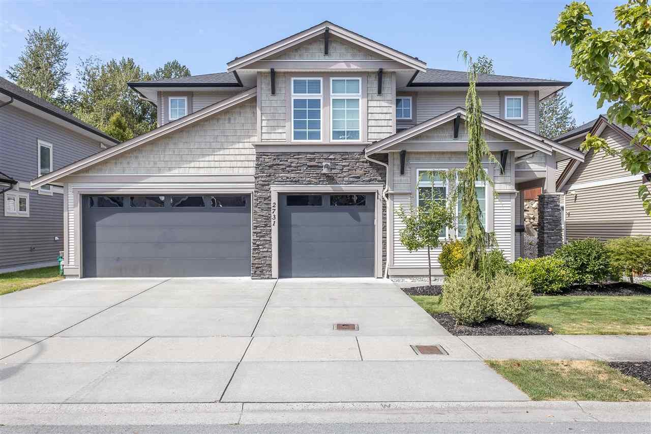 """Main Photo: 2731 BRISTOL Drive in Abbotsford: Abbotsford East House for sale in """"THE QUARRY"""" : MLS®# R2486008"""