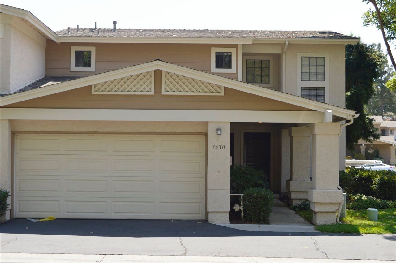 Main Photo: SAN CARLOS Townhouse for sale : 3 bedrooms : 7430 Rainswept Ln in San Diego