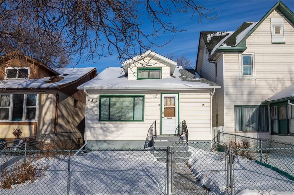 Main Photo: 853 Stella Avenue in Winnipeg: North End Residential for sale (4A)  : MLS®# 202101109