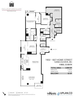 """Photo 40: 1902 667 HOWE Street in Vancouver: Downtown VW Condo for sale in """"PRIVATE RESIDENCES AT HOTEL GEORGIA"""" (Vancouver West)  : MLS®# R2615132"""