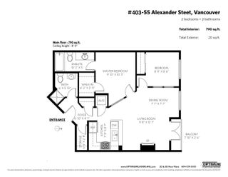 """Photo 24: 403 55 ALEXANDER Street in Vancouver: Downtown VE Condo for sale in """"55 Alexander"""" (Vancouver East)  : MLS®# R2614776"""
