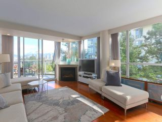 "Photo 1: 404 1485 W 6TH Avenue in Vancouver: False Creek Condo for sale in ""Carrara of Portico"" (Vancouver West)  : MLS®# R2408477"