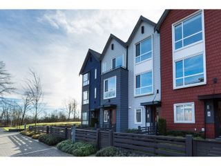 "Photo 1: 10 2332 RANGER Lane in Port Coquitlam: Riverwood Townhouse for sale in ""Fremont Blue"" : MLS®# R2022229"