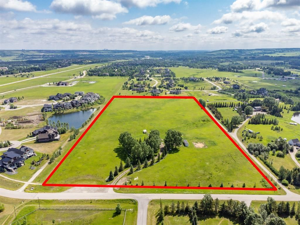 Main Photo: 190 West Meadows Estates Road in Rural Rocky View County: Rural Rocky View MD Residential Land for sale : MLS®# A1128622