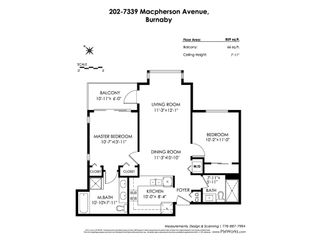 """Photo 20: 202 7339 MACPHERSON Avenue in Burnaby: Metrotown Condo for sale in """"CADANCE"""" (Burnaby South)  : MLS®# R2417228"""