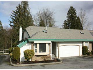 "Photo 1: 26 3115 TRAFALGAR Street in Abbotsford: Central Abbotsford Townhouse for sale in ""Cedarbrook Village"" : MLS®# F1304653"