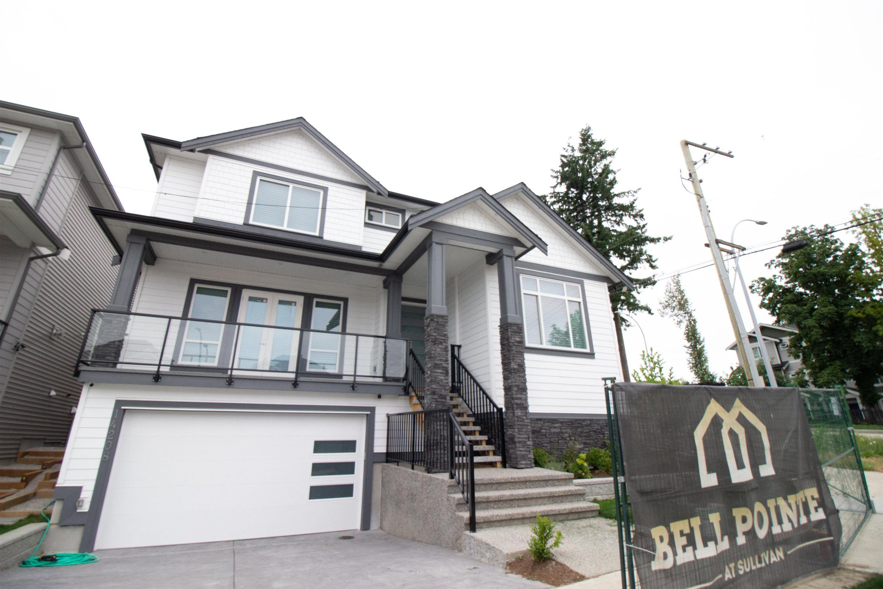 "Main Photo: 14260 61B Avenue in Surrey: Sullivan Station House for sale in ""Bellpointe"" : MLS®# R2614569"