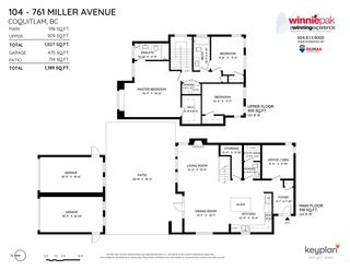 Photo 36: 104 761 MILLER Avenue in Coquitlam: Coquitlam West House for sale : MLS®# R2580263