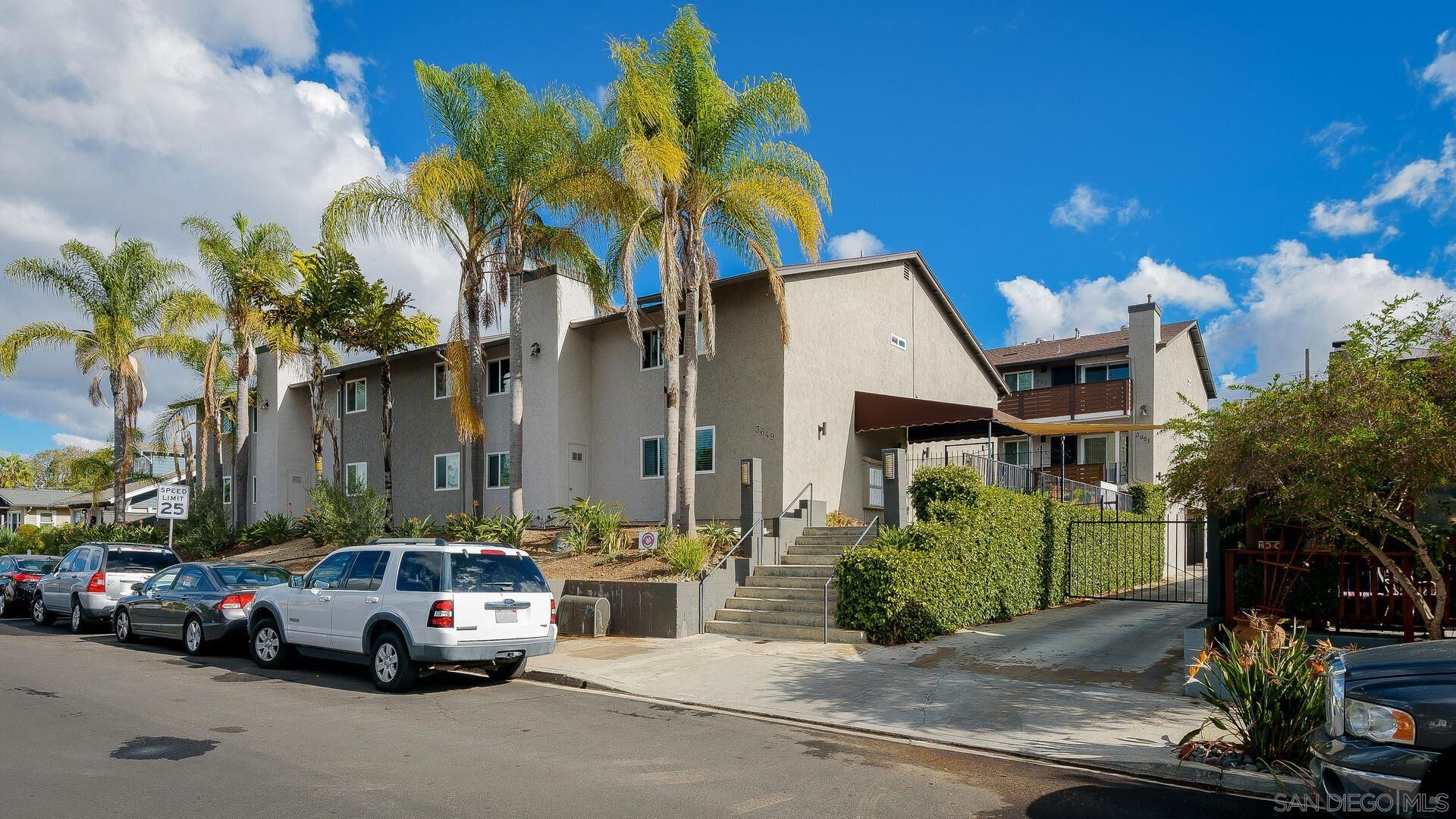 Main Photo: NORTH PARK Condo for sale : 2 bedrooms : 3649 Louisiana St #103 in San Diego