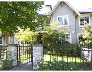 """Photo 1: 2 8415 CUMBERLAND Place in Burnaby: The Crest Townhouse for sale in """"ASHCOMBE"""" (Burnaby East)  : MLS®# V788857"""