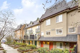 """Photo 1: 19 1561 BOOTH Avenue in Coquitlam: Maillardville Townhouse for sale in """"THE COURCELLES"""" : MLS®# R2147892"""