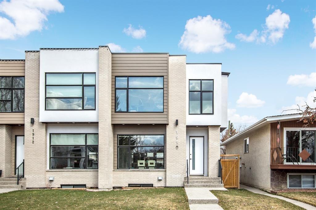Main Photo: 1910 43 Avenue SW in Calgary: Altadore Semi Detached for sale : MLS®# A1129393