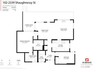 """Photo 24: 102 2339 SHAUGHNESSY Street in Port Coquitlam: Central Pt Coquitlam Condo for sale in """"Shaughnessy Court"""" : MLS®# R2610376"""