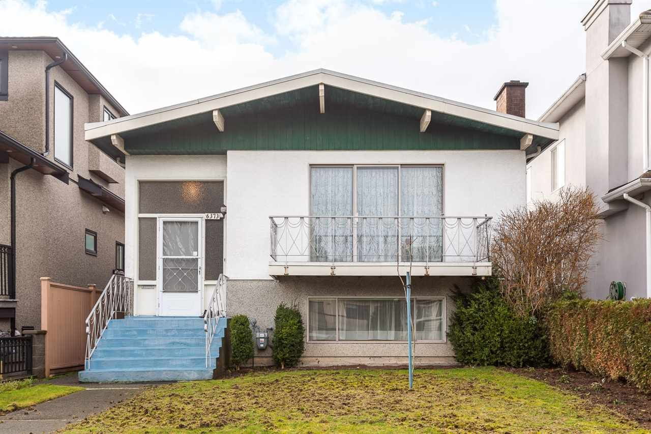 Main Photo: 6373 PRINCE ALBERT STREET in Vancouver: Fraser VE House for sale (Vancouver East)  : MLS®# R2027865
