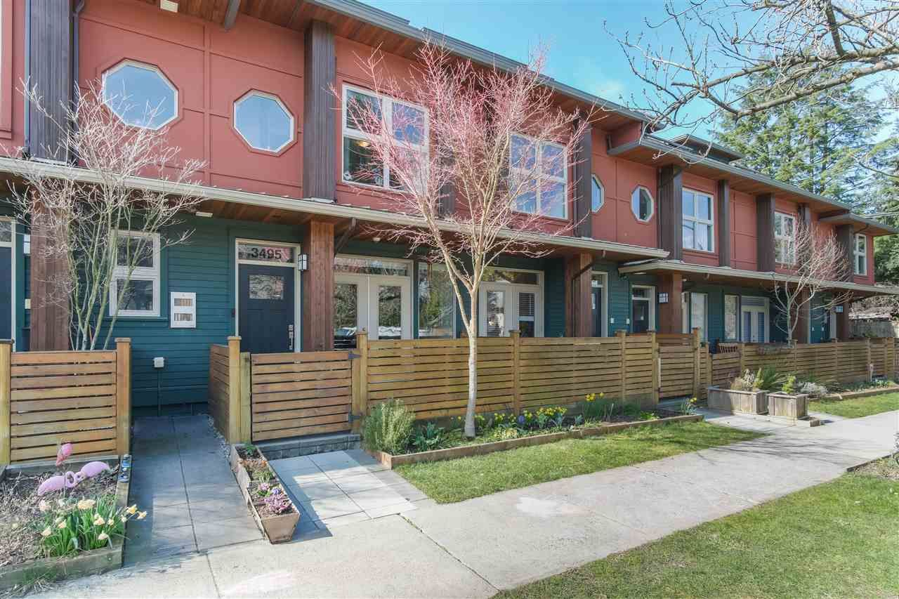 Photo 2: Photos: 3495 INVERNESS STREET in Vancouver: Knight Townhouse for sale (Vancouver East)  : MLS®# R2446835